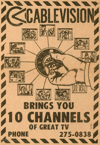 Early Cablevision ad